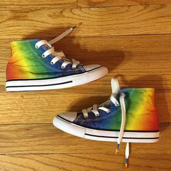 Converse Shoes | Rainbow Toddler
